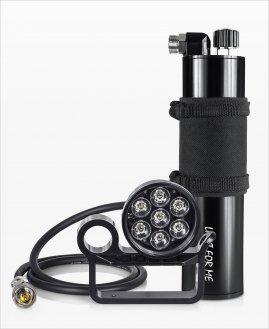 Zestaw 7XPE RCA + Akumulator M- Sidemount Backmount 8.6 Ah