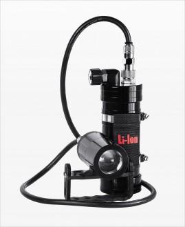 Latarka Tekone + Aku 4.4-7.8Ah Sidemount Backmount Factory Refurbished